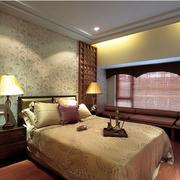简约大气东南亚卧室飘窗设计