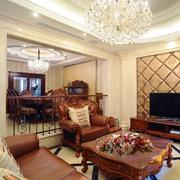 唯美大户型客厅设计