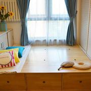 潮流卧室榻榻米装修设计