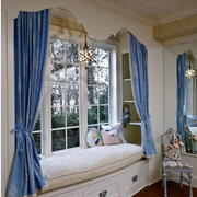 清新欧式别墅飘窗装修设计
