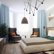 简单明了复式楼卧室设计