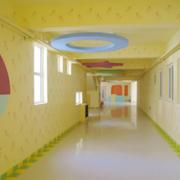 潮流幼儿园墙饰装修设计