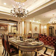 法式靓丽餐厅吊顶装修