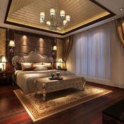 经典美式别墅卧室装修设计