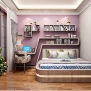 典雅卧室榻榻米装修设计