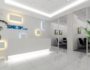 2015现代风格的办公室走廊吊顶装修效果图欣赏