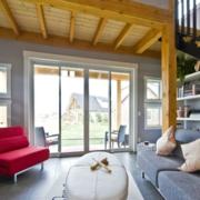 现代跃层式住宅楼梯装修设计