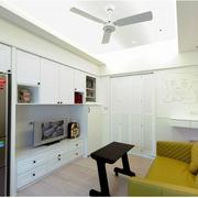 大气地中海单身公寓装修设计