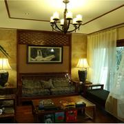 唯美东南亚别墅飘窗装修设计