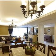 浪漫美式单身公寓装修设计