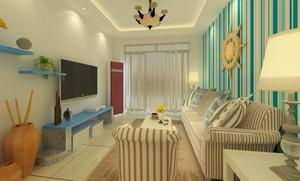 地中海风格小户型展厅装修