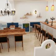 简约地中海风格酒吧设计