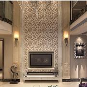 华美欧式别墅客厅电视背景墙设计