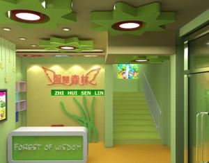 清新自然幼儿园装修设计