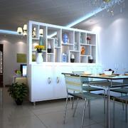 简约欧式客厅酒柜设计