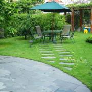时尚中式别墅庭院绿化设计
