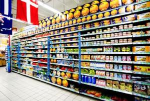 多彩小户型超市货架设计
