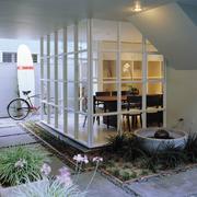 大气大型别墅入户花园装修