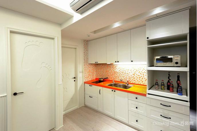 90平米地中海单身公寓装修效果图