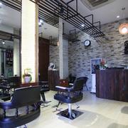 工业风格美发店室内设计
