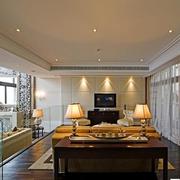 大气欧式别墅客厅电视背景墙设计