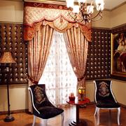 经典欧式奢华别墅窗帘设计