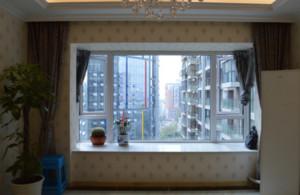 唯美欧式飘窗窗帘设计
