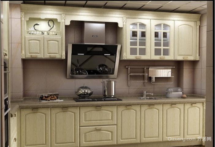 欧式别墅橱柜效果图