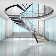 时尚简欧旋转楼梯设计