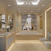 精致卫生间瓷砖设计