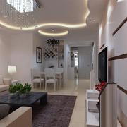 精装现代客厅装修设计