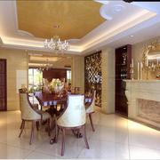 精致客厅石膏线装修设计