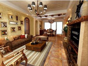 精致美式别墅玄关设计