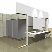 简约公共卫生间设计