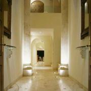 华美复式楼走廊吊顶设计