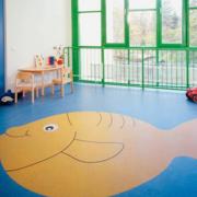 潮流幼儿园墙绘设计装修
