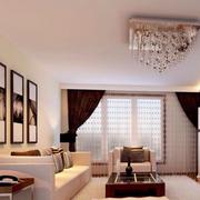 精美客厅沙发背景装修设计