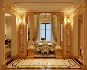 华美欧式别墅飘窗装修设计