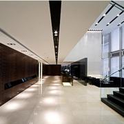 精装现代办公室走廊吊顶设计