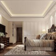 简约美式别墅卧室装修设计