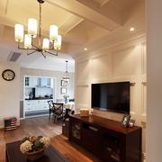 大气三室两厅客厅设计
