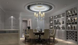 精致欧式餐厅吊顶装修设计