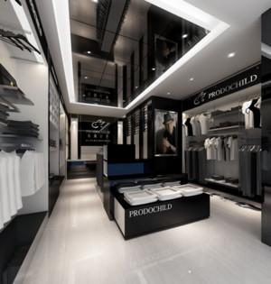 精致服装店展示设计