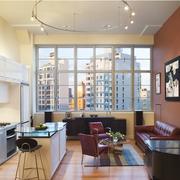 大气现代简约都市单身公寓