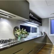 经典大户型厨房橱柜设计