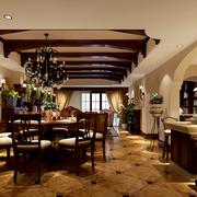 高档美式客厅设计