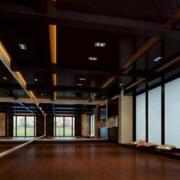 大气小户型瑜伽房装修设计
