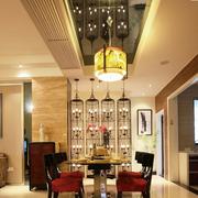 高档欧式餐厅吊顶装修设计