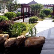 唯美别墅入户花园设计