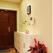 简约单身公寓室内鞋柜设计
